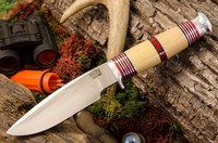 Barkriver Michigan Hunter Cru-Wear Ivory Micarta BBS