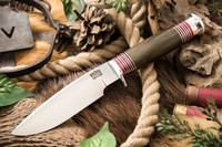 Barkriver Michigan Hunter Cru-Wear Green Canvas Micarta