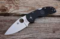 Spyderco Native 5 S30VN Black FRN Handle Photo