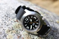Bushcraft SOLAR watch with Black strap Photo