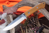 Barkriver Wilderness 5 CPM Cru-Wear Natural canvas Micarta