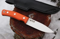 Casstrom Swedish Forest Knife No10 FG Orange G10