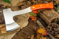 Barkriver Hunters Axe Blaze Orange G10 Photo
