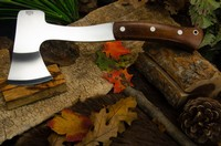 Barkriver Hunters Axe Dark Curly Maple red Liners #2 Photo