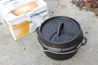 Petromax FT1 Cast Dutch Oven FLAT BOTTOM Photo