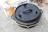 Petromax FT3 Cast Dutch Oven FLAT BOTTOM Photo