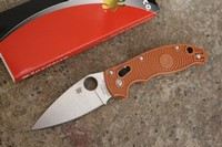 Spyderco Manix 2 FRN REX 45 Sprint Run Photo